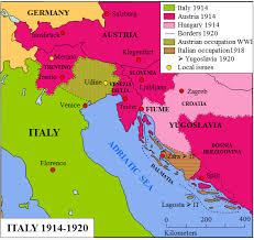 map of italy images italy 1914 1920 map stworldhistory