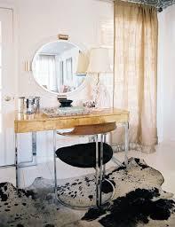 Vanity Stool Chrome Chrome Vanity Chair Contemporary Bedroom Lonny Magazine