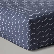 Grey Chevron Crib Bedding Set Crib Bedding Set Chevron 4pc Cloud Island Navy Target