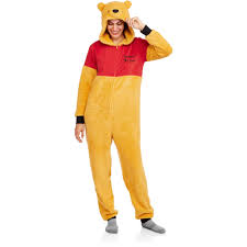 footie pajamas halloween costumes licensed winnie the pooh union suit walmart com