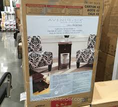 Accent Chair And Table Set Avenue Six 3 Piece Chair And Accent Table Set Costco Weekender