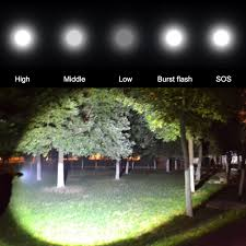 aliexpress com buy ru led cree xm l t6 3000 lm led flashlight