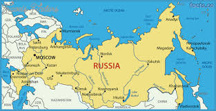 european russia map cities russia map travelsfinders