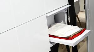 panasonic presents a washing machine that folds your clothes and a