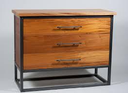 Metal Bedroom Dresser Rectangular Brown Black Metal Bedroom Dresser Mixed Wooden Drawers