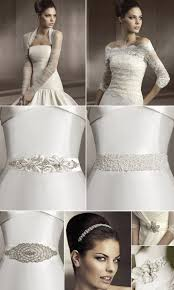 bridal hair accessories and wedding dress sashes by pronovias