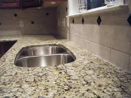 Caulking Kitchen Backsplash by Kitchen Backsplash With Granite Countertops Granite Countertops
