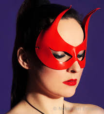 devil mask for halloween red devil mask w big horns masquerade ball satan