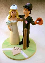 baseball wedding cake toppers cub s baseball wedding cake topper