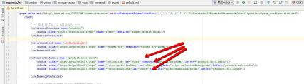 add js layout magento exception duplicate other alias in product info main issue