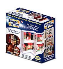 amazon com swivel store organizer storage system spice racks