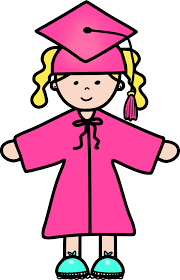 pink cap and gown pictures of caps and gowns clipart library hanslodge cliparts