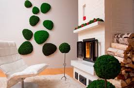 indoor moss is a fuss free way to add a natural element to home decor