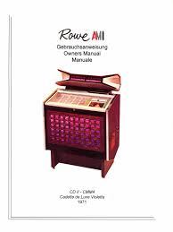 jukebox rowe ami manual high resolution instant pdf model cd