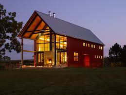 Floor Plans For Barn Homes Pole Barn House Plans Houzz Barn And Porch