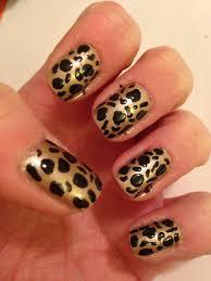 cheetah nail design beginnersnailart u0027s blog