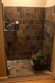 Doorless Shower For Small Bathroom Bathroom Diy Shower Door Ideas Bathroom With Doorless Shower
