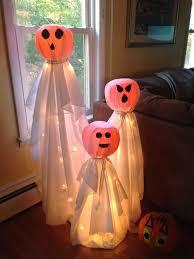 tomato cage halloween decorations plastic pumpkins tomato cage