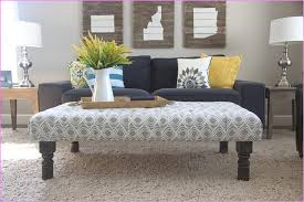 fabric ottoman coffee table colors fabric covered ottoman coffee