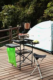 Unlimited Outdoor Kitchen Amazon Com Magicook Folding Table Portable Camp Kitchen Fold
