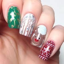 763 best nail art 16 christmas images on pinterest