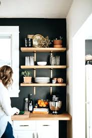 Open Kitchen Shelf Ideas Shelves Shelves Ideas Creative Shelves Home Decoration Diy Black