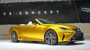 lexus f series yellow l a auto show supercharged corvette and our top five cars la