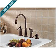 Price Pfister Ashfield Kitchen Faucet by Rustic Bronze Ashfield 1 Handle Kitchen Faucet Lg26 4ypu