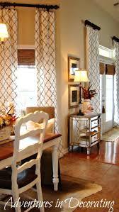 dining room drapery ideas 138 excellent adventures in decorating deja vu decorating cowhide
