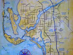 Bonita Springs Florida Map by Map Of Cape Coral Vacation Rentals Cape Coral U0026 Southwest Florida