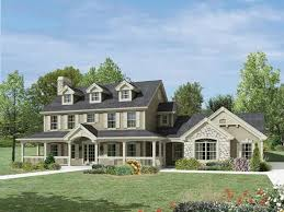 front and side porch house plans