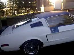 1967 ford mustang fastback project for sale for sale 1968 mustang fastback running car