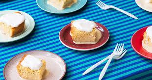 pastel de tres leches sponge cake with three milks recipe saveur