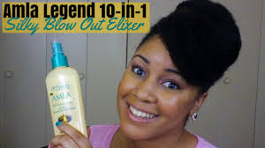 alma legend hair does it really work amla legend 10 in 1 silky blow out elixir review youtube
