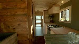 tiny home rentals colorado tiny bus house reveal video hgtv