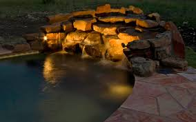 Outdoor Water Features With Lights by Wilmington U0027s Water Features Shine In The Right Outdoor Light