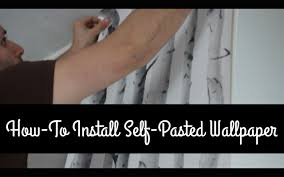 how to hang pre pasted wallpaper for beginners paper by bouclair