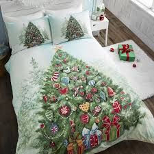 Christmas Duvet Covers Uk Christmas Tree Green Duvet Covet Set Tonys Textiles