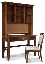 computer desk vanity with lift lid and drop front center drawer by