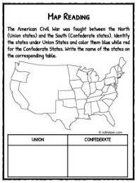 civil war facts information u0026 worksheets for kids