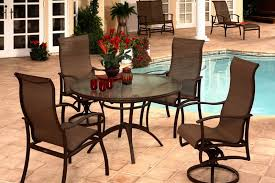 Aluminum Patio Tables Sale Mallin Outdoor Patio Furniture U2014 Oasis Pools Plus Of Charlotte Nc