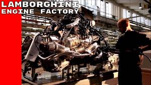 lamborghini engine lamborghini engine factory youtube