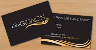 Business Card Design Pricing Kings Salon Business Cards Flyers U0026 Price Lists Art Work Aqua