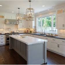 white kitchen with long island kitchens pinterest pin by tammy griffiths on kitchens pinterest kitchens kitchen