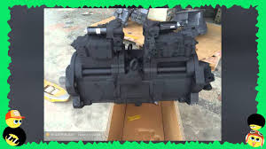 hydraulic pump for excavators komatsu hitachi kobelco volvo youtube