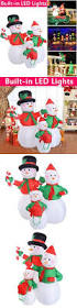 Inflatable Christmas Decorations Outdoor Cheap - yard d cor 156812 christmas air blown inflatable yard decoration
