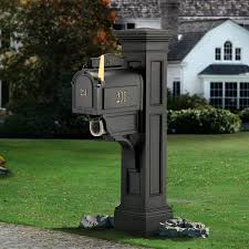 top decorative mailbox post home design stylinghome design styling