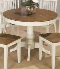 round expandable dining table sag harbor expandable round dining