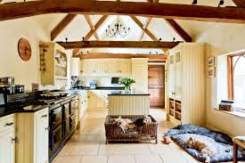 barn conversion ideas a lovely open plan kitchen with plenty of room for the dog and a few