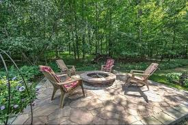Backyard Nature Products Rustic Patio With Firepit U0026 Fire Pit In Elm Grove Wi Zillow
